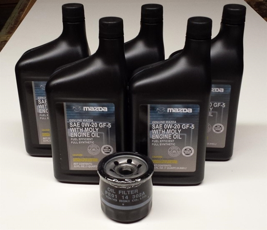 Oil Change Kit For 2.0 And 2.5 SKYACTIV Engines (NOT FOR TURBO APPLICATIONS)