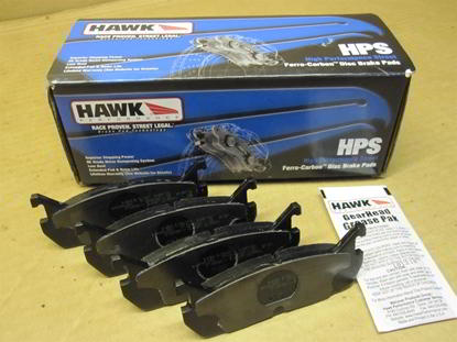 Picture of Protege Front Brake Pads - HAWK HPS (1999-2003 1.8/2.0)