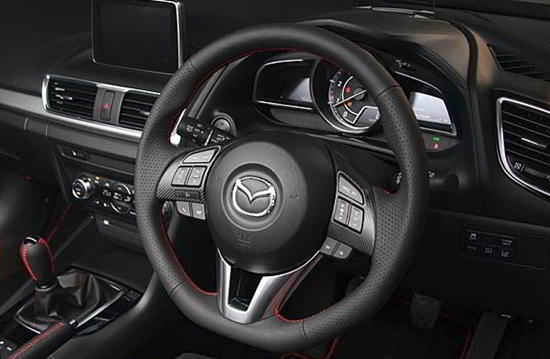 Picture of AutoExe Sports Steering Wheel for Mazda 6