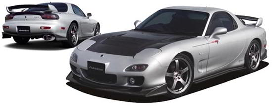 Picture of AutoExe FD-02S Styling Kit for RX-7