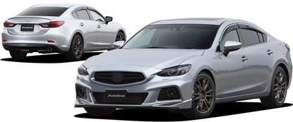 Picture of AutoExe GJ-05s Styling Kit for Mazda 6