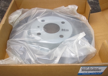 Picture of Front Brake Rotor for MX-5 ND (factory Brembo brakes)